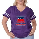 Stranger Women's Plus Size Football T-Shirt
