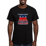 Stranger Men's Fitted T-Shirt (dark)