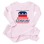 Stranger Toddler Pink Pajamas