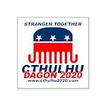 Stranger Square Sticker 3