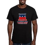 Feel the Spurn Men's Fitted T-Shirt (dark)