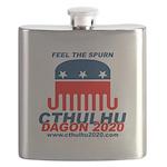 Feel the Spurn Flask