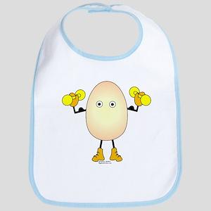 Weight Lifter Egghead Bib