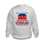 Snack Lives Matter Kids Sweatshirt
