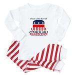 Snack Lives Matter Baby Pajamas