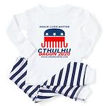 Snack Lives Matter Toddler Pajamas