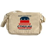 Snack Lives Matter Messenger Bag