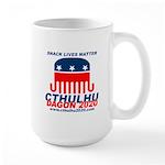 Snack Lives Matter 15 oz Ceramic Large Mug