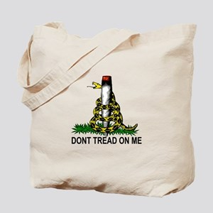 Rattle Snake with Joint Tote Bag