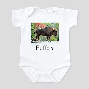 """""""Flashcard Tees"""" Buffalo Infant Creeper"""