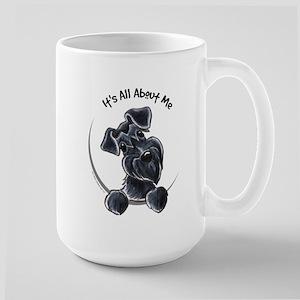 Black Schnazuer IAAM Large Mug