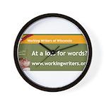 Working Writers of Wisconsin Wall Clock