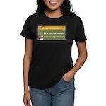 Working Writers of Wisconsin Women's Dark T-Shirt