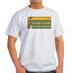 Working Writers of Wisconsin Light T-Shirt