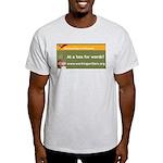 Working Writers of Wisconsin Light T-Shirt