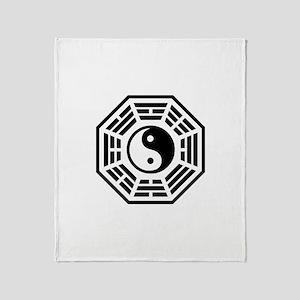 LOST DHARMA Yin Yang Throw Blanket