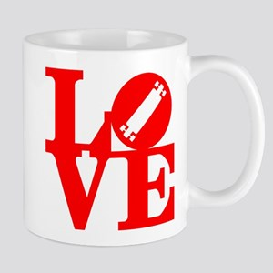 Love longboard red Mug