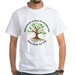 Adult MSHR White T-Shirt