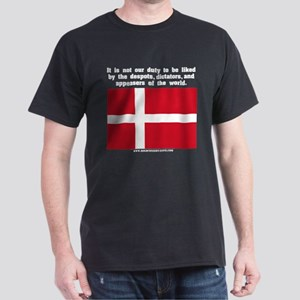 Not Our Duty Denmark Black T-Shirt