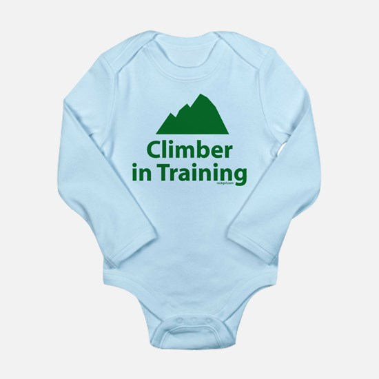 Climber in Training Long Sleeve Infant Bodysuit