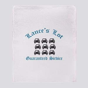 Lance's Lot - Throw Blanket