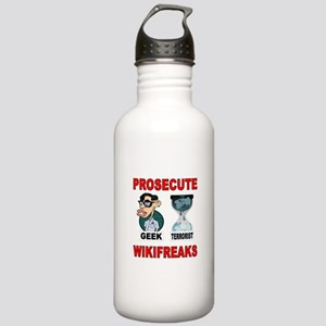 PROSECUTE THE GEEKS TOO Stainless Water Bottle 1.0