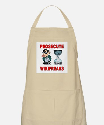 PROSECUTE THE GEEKS TOO Apron