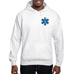 Masonic EMS Blue Star of Life Hoodie