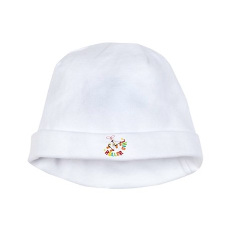 Roller Girl baby hat