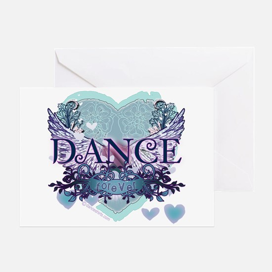 Dance Forever by DanceShirts.com Greeting Card