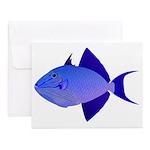 Niger Triggerfish Notecards (Set of 20)