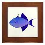 Niger Triggerfish Framed Tile