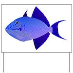 Niger Triggerfish Yard Sign