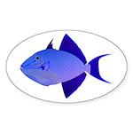Niger Triggerfish Sticker