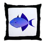 Niger Triggerfish Throw Pillow