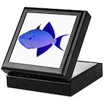 Niger Triggerfish Keepsake Box