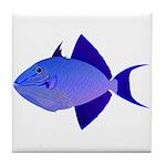 Niger Triggerfish Tile Coaster