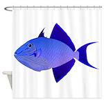 Niger Triggerfish Shower Curtain