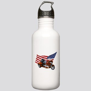 Old Glory Trike Stainless Water Bottle 1.0L