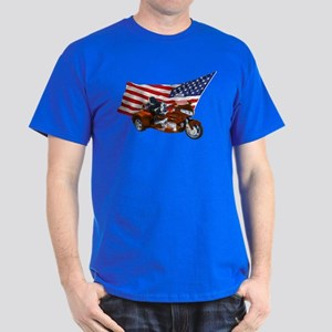 Old Glory Trike Dark T-Shirt