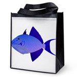 Niger Triggerfish Reusable Grocery Tote Bag