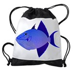 Niger Triggerfish Drawstring Bag