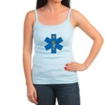 OES EMS Blue Star of Life Jr. Spaghetti Tank