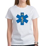 OES EMS Blue Star of Life Women's T-Shirt
