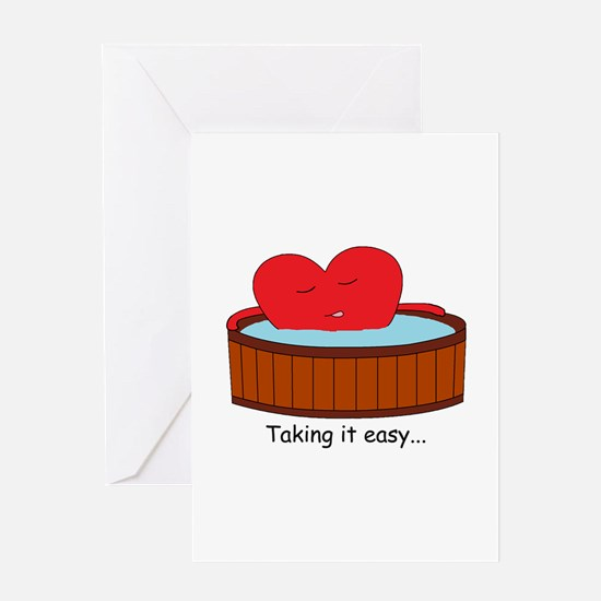 Take it easy Greeting Card