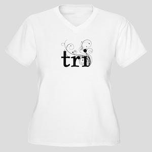 tri Women's Plus Size V-Neck T-Shirt