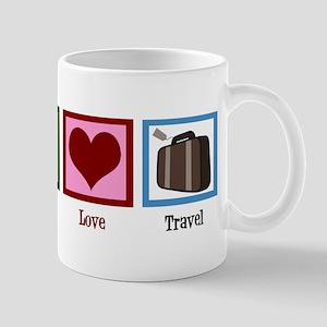 Peace Love Travel Mug