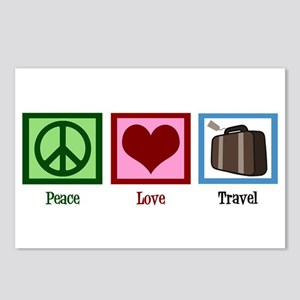 Peace Love Travel Postcards (Package of 8)