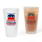 No More Years Drinking Glass