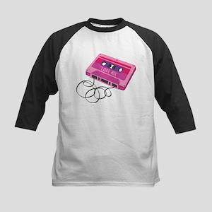 Love Mix Tape Kids Baseball Jersey